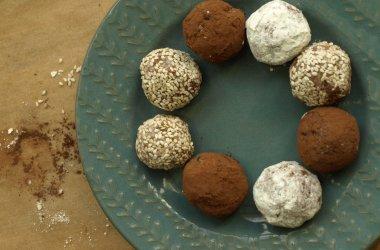 Kulki mocy z miodem – zdrowa słodycz